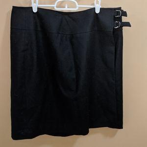 Talbots Wrap Around Buckle Skirt